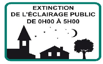 Extinction nocturne de l'éclairage public